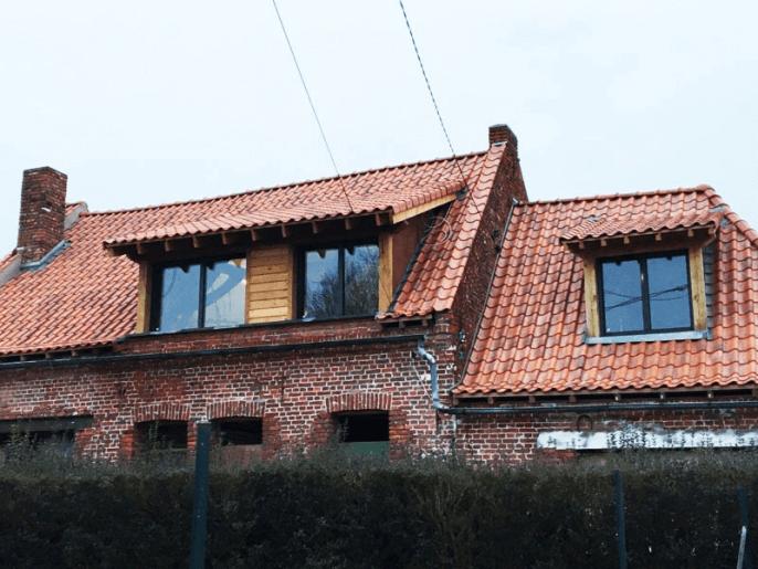 Fenêtre aluminium gris anthracite RAL 7016 dans la région lilloise