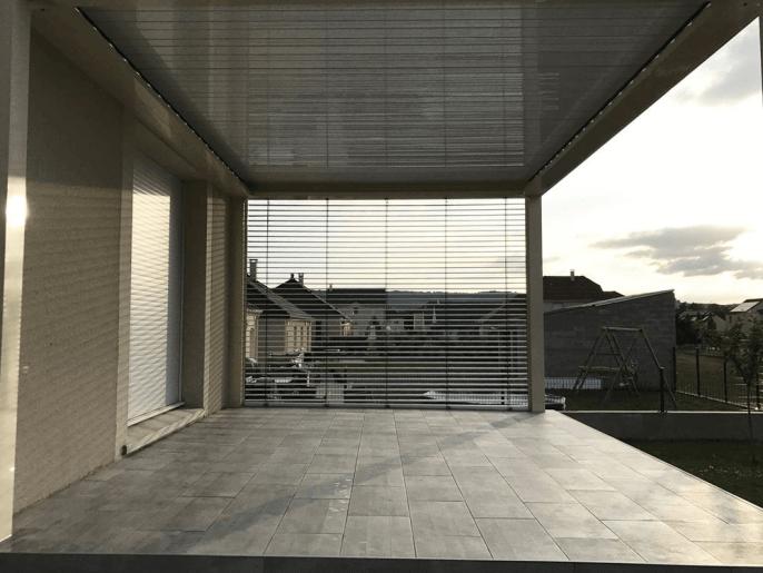 Pergola toit à lames orientables Châlons en Champagne