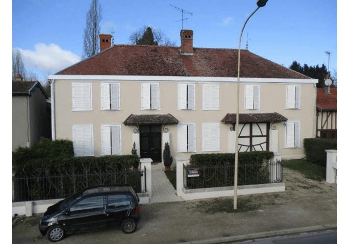 Rénovation porte d'entrée, volets battants et châssis fixe à Châlons en Champagne