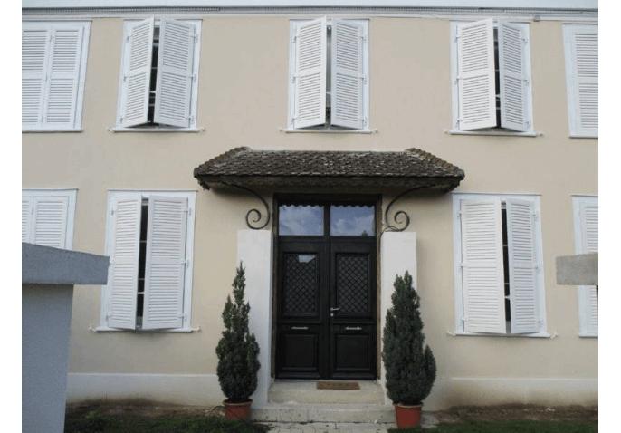 Rénovation porte d'entrée alu et volets battants alu à Châlons en Champagne