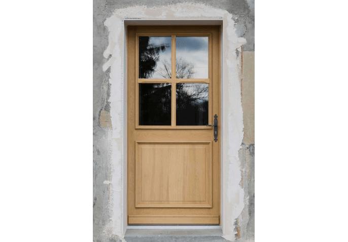 Porte d'entrée avec vitrage à Cercier Annecy